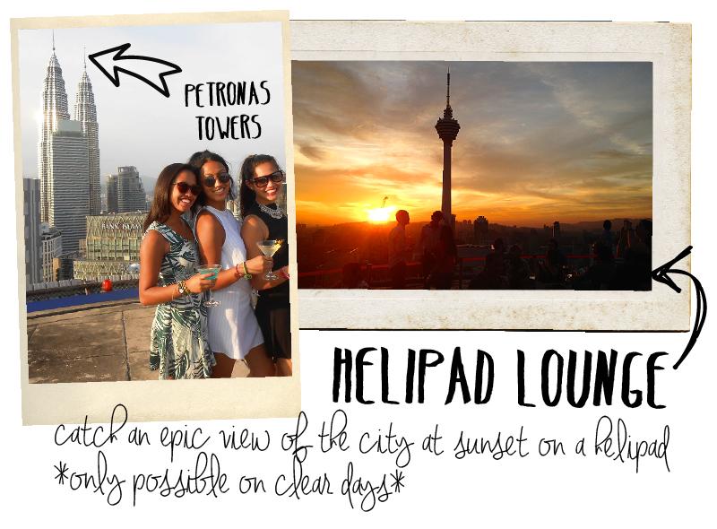 City Guide Kuala Lumpur Helipad Lounge