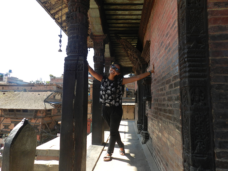 In Bhaktapur