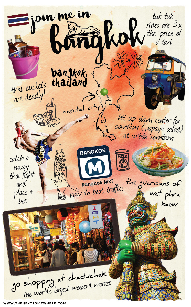 Top Five Things To Do in Bangkok, Thailand - The Next Somewhere