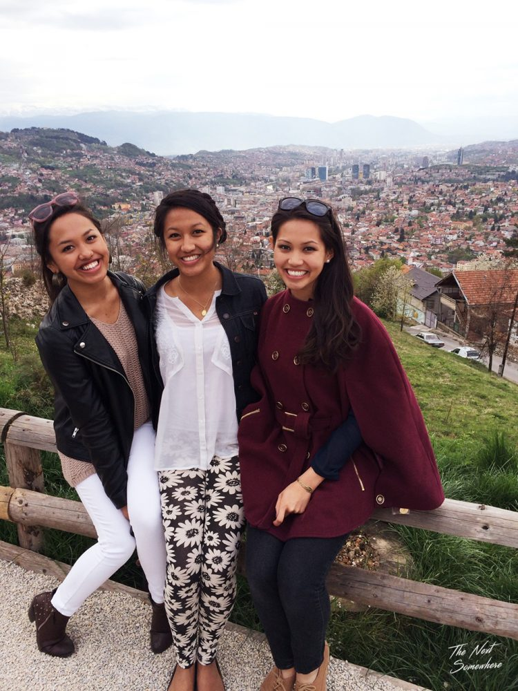 Sisters Travel Companions Sarajevo