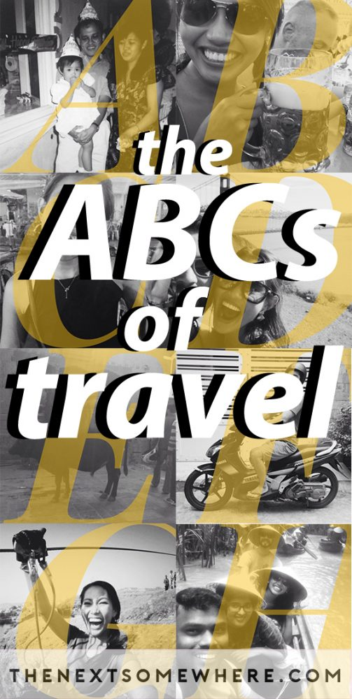 ABCs of travel
