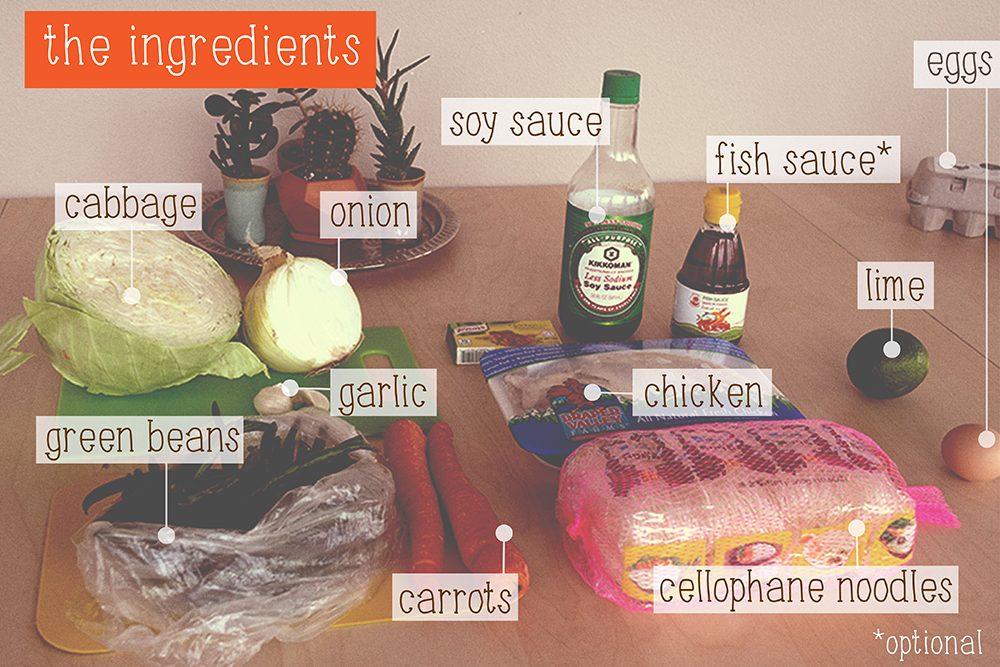 pancit bihon ingredients recipe filipino food