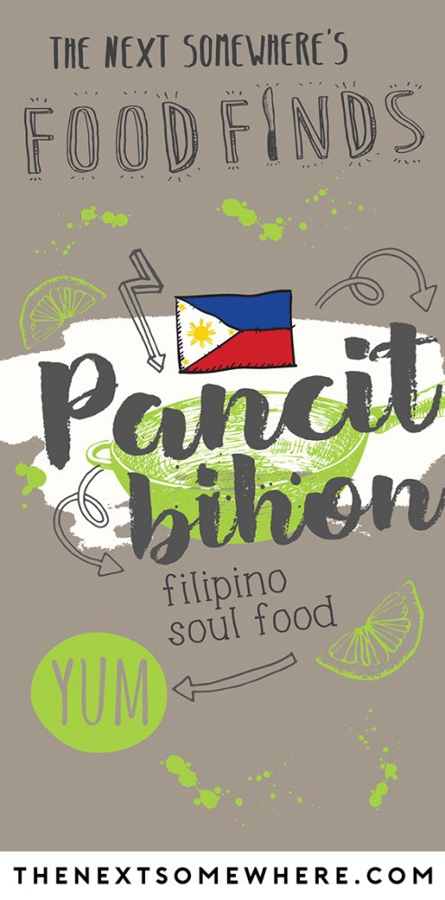 pancit bihon pinterest filipino food
