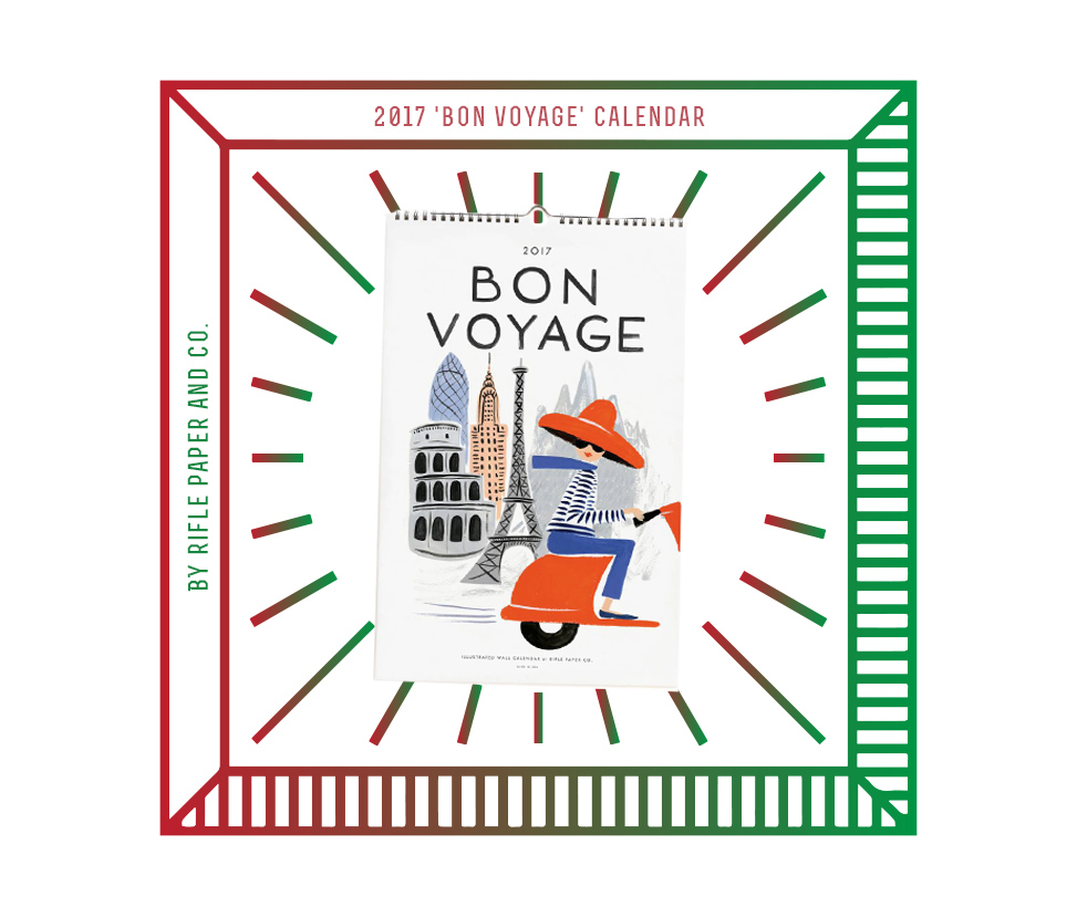 Bon Voyage for 2016 Gift Guide @ The Next Somewhere