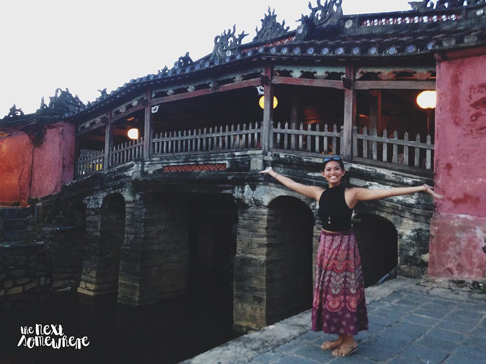 things to do in hoi an japanese covered bridge