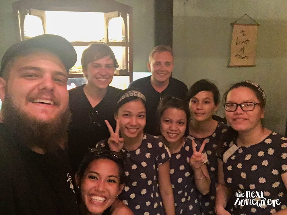 things to do in hoi an reaching out teahouse
