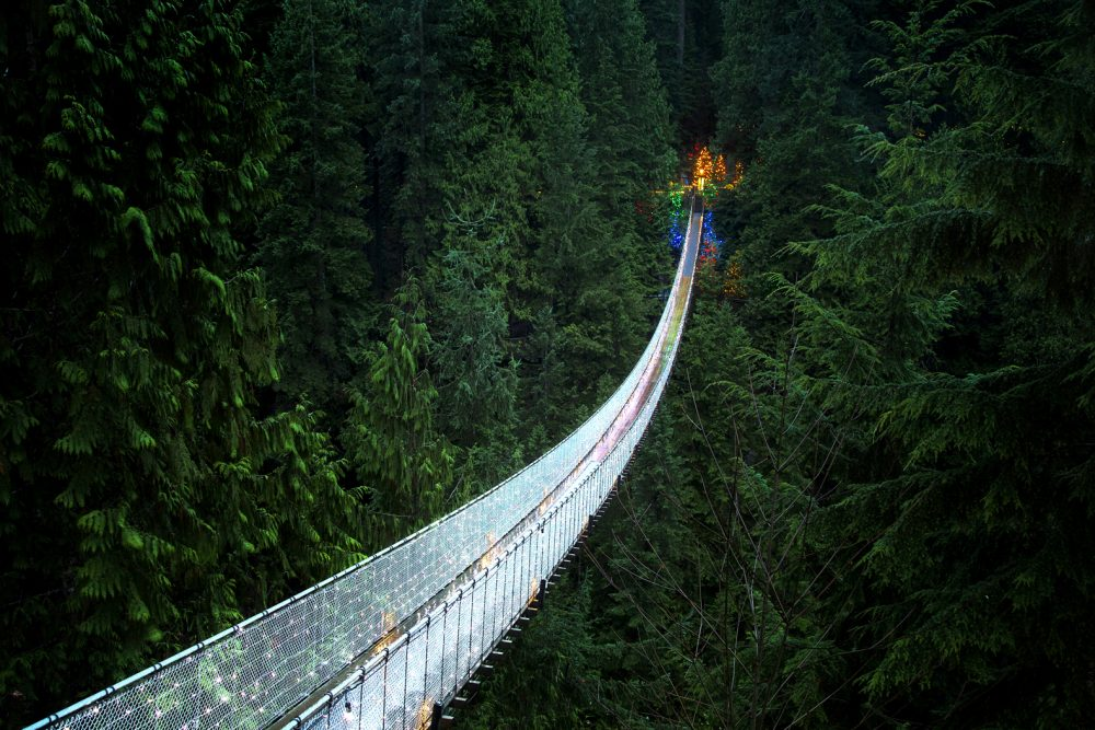 2017 new years adventure resolutions capilano suspension bridge