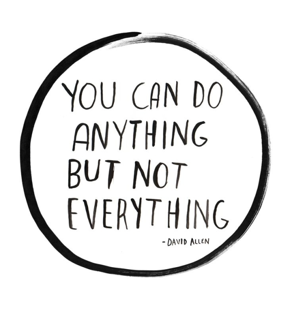 you can do everything but not everything