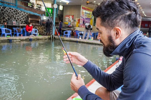 cheun cheng diy shrimp fishing