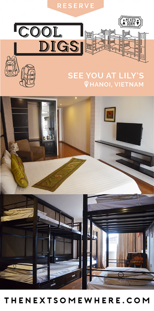 Hanoi's See You At Lily's Bohemian Hostel: A Review @TheNextSomewhere
