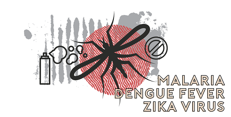 world diseases malaria zika dengue
