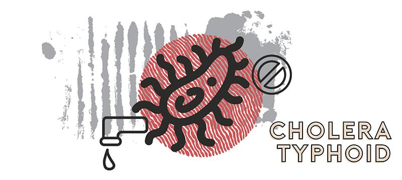 world diseases typhoid cholera