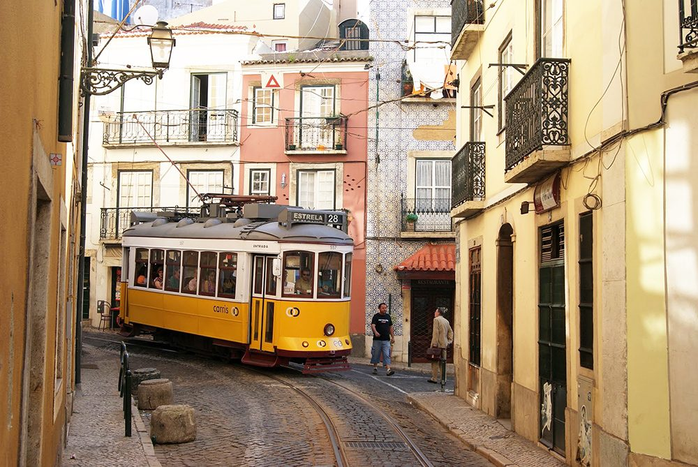 tram 28 top five things to do lisbon portugal