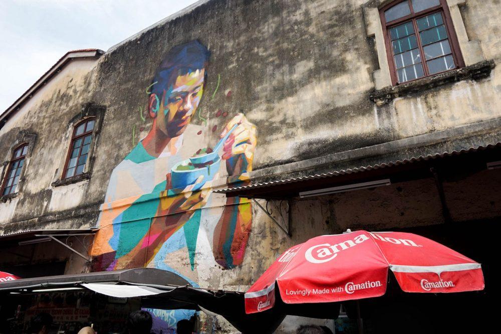 Street art penang georgetown malaysia