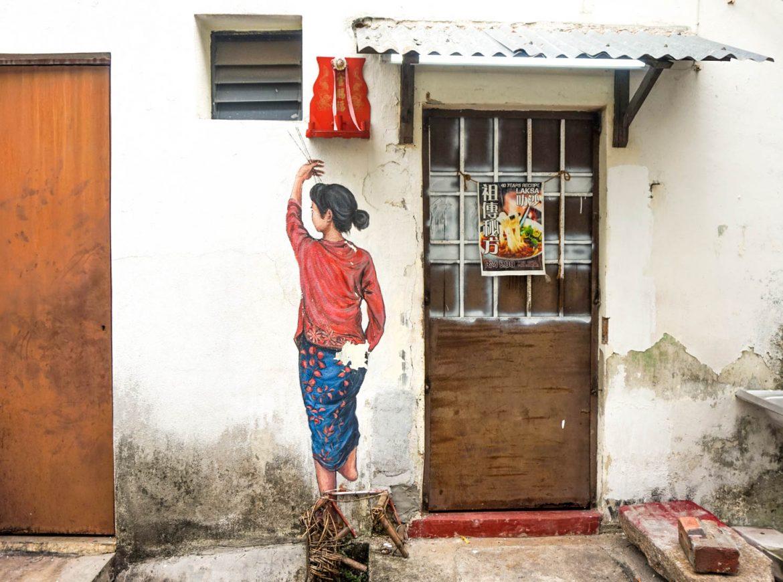 georgetown malaysia penang street art