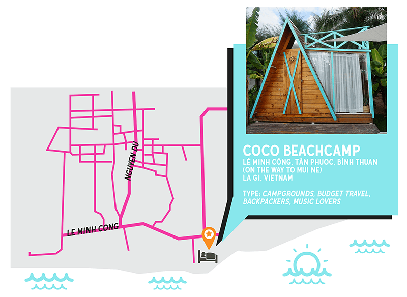 where to stay in vietnam coco beachcamp