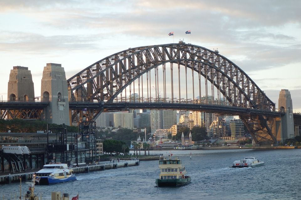 Harbor Bridge Sydndey, Australia