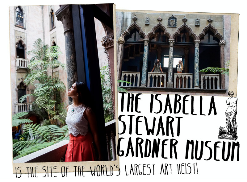 Isabella Stewart Gardner Museum City Guide Boston
