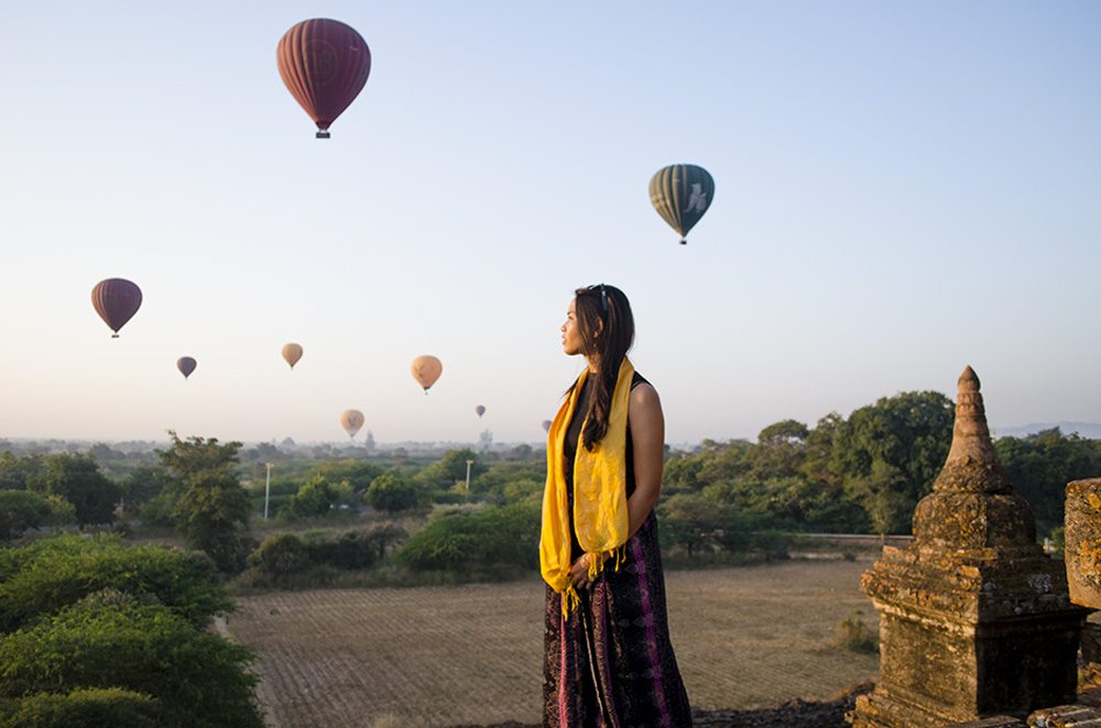 First Trip to Myanmar Hot Air Balloons
