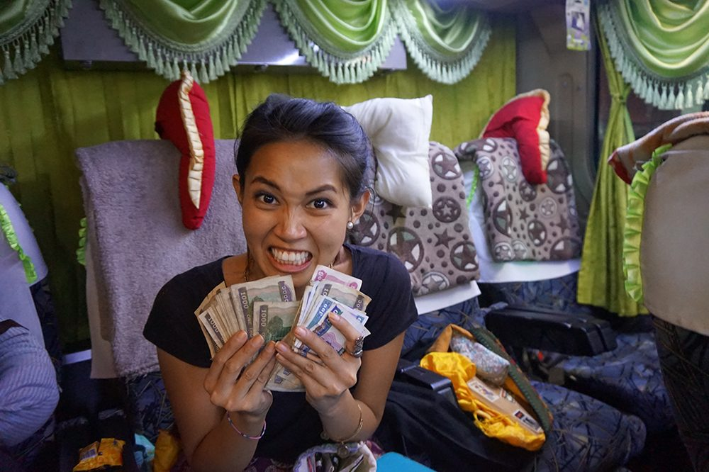 First Trip to Myanmar Cash