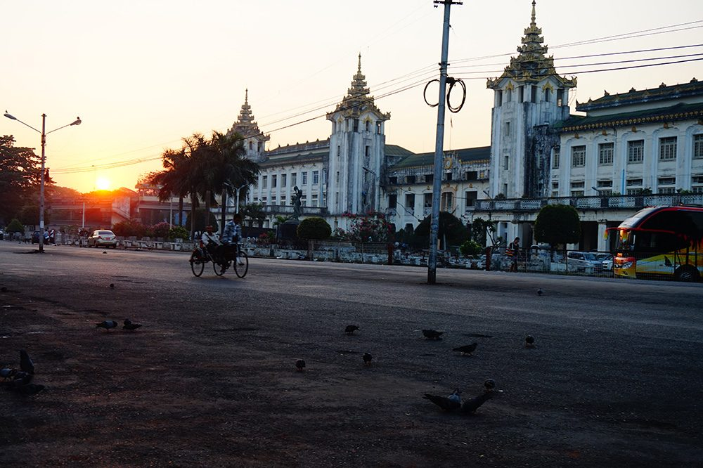 First Trip to Myanmar Bus Station