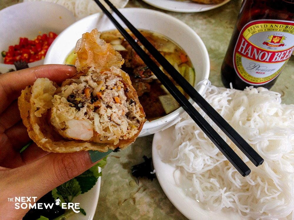 Top Five Things to Do in Hanoi Vietnam Bun Cha