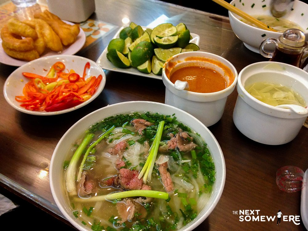 Top Five in Hanoi Vietnam Pho