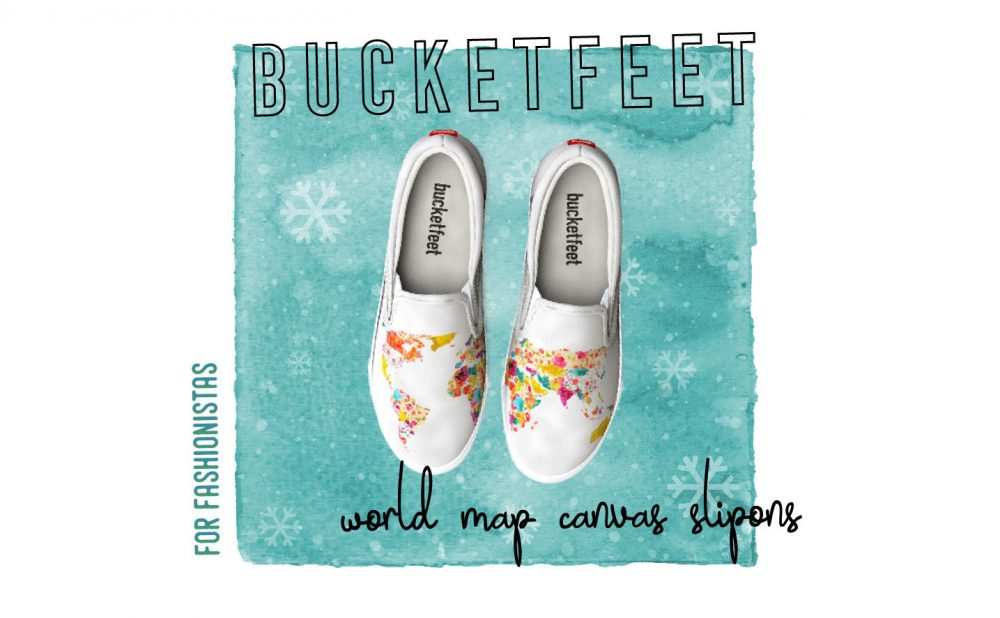 2017 Travelers Holiday Gift Guide World Map Slipons