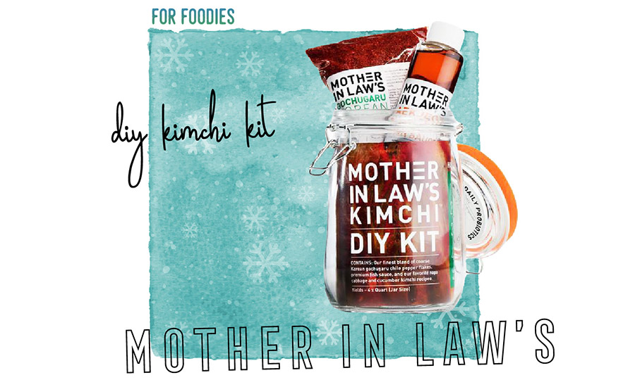 2017 Travelers Holiday Gift Guide DIY Kimchi Kit