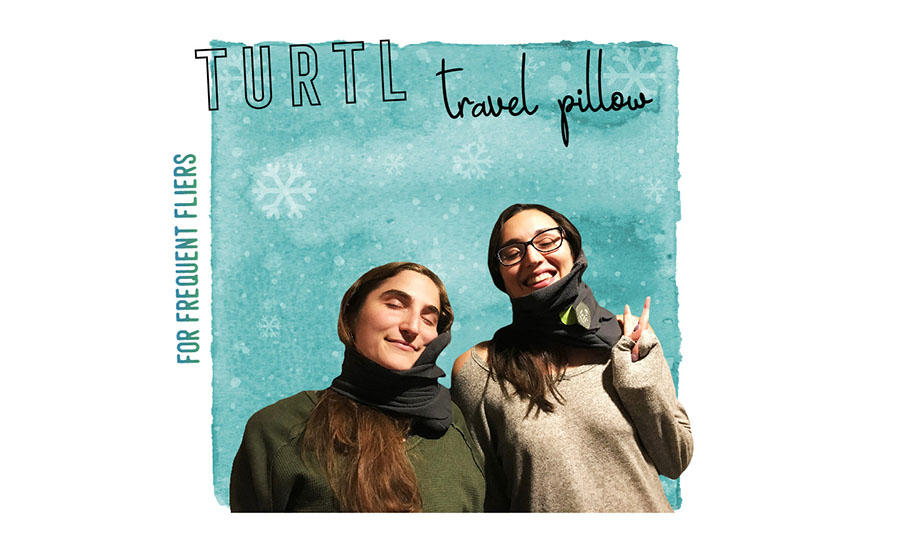 2017 Travelers Holiday Gift Guide Turtl Travel Pillow