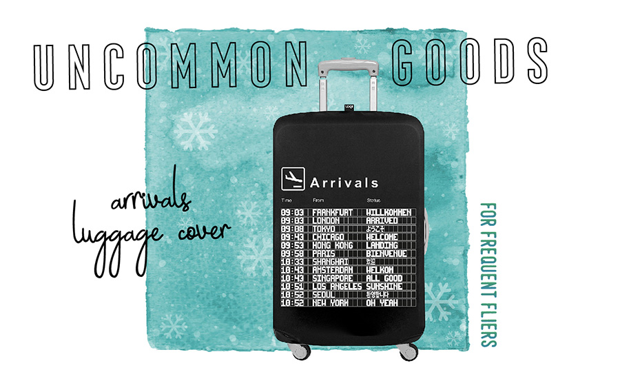 2017 Travelers Holiday Gift Guide Arrival Bags