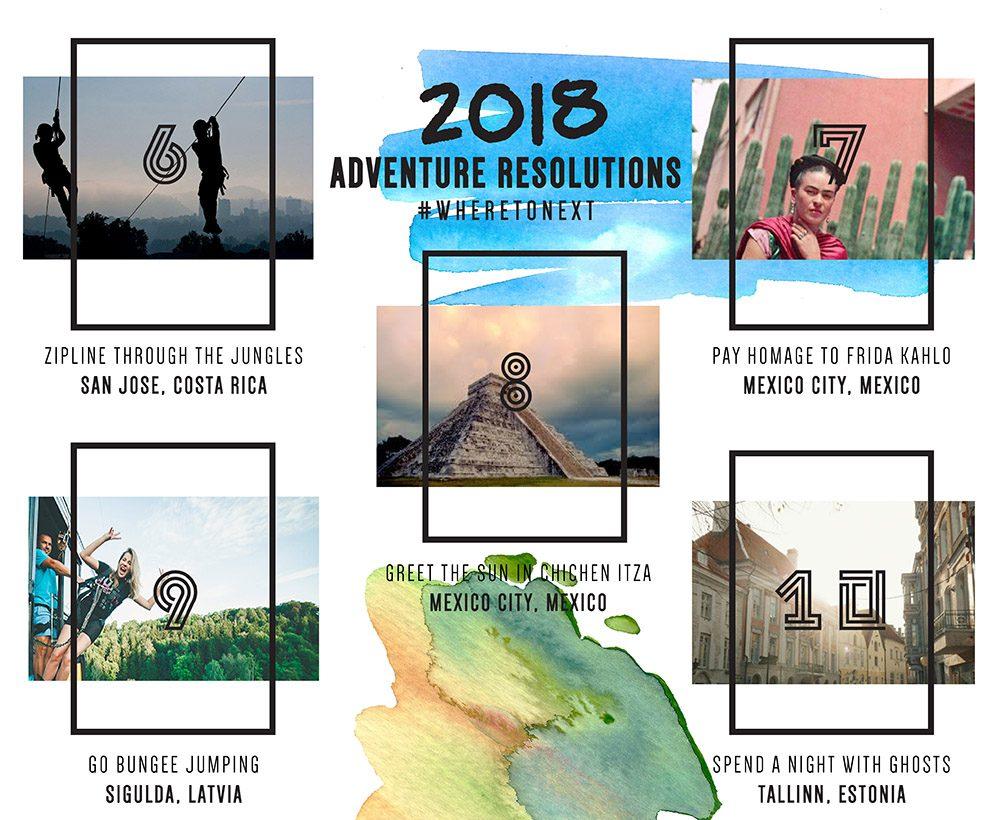 2018 Adventure Resolutions The Next Somewhere