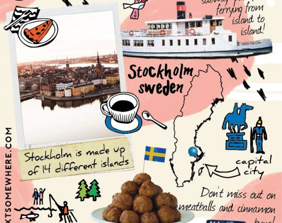 Top Five Things To Do in Stockholm, Sweden with The Next Somewhere