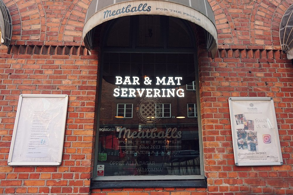 Things To Do in Stockholm Meatballs for the People