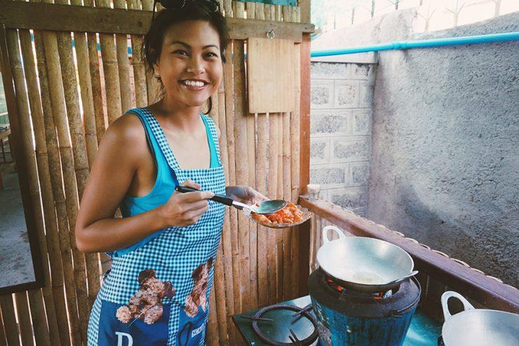 Burmese Cooking Class Nyaungshwe Mercury Cooking Class