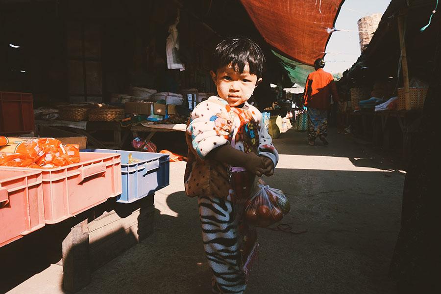 Burmese Cooking Class Nyaungshwe Migalar Market