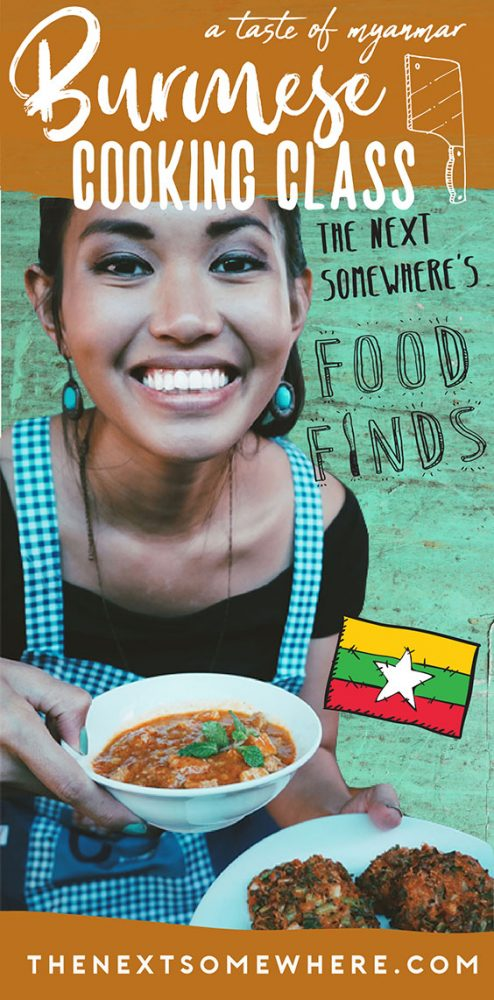 Take a Burmese Cooking Class in Nyaungshwe at @The Next Somewhere