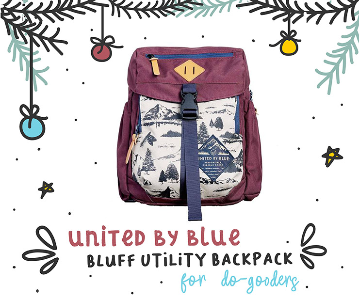 2018 Travelers Holiday Gift Guide Bluff Utlility Backpack