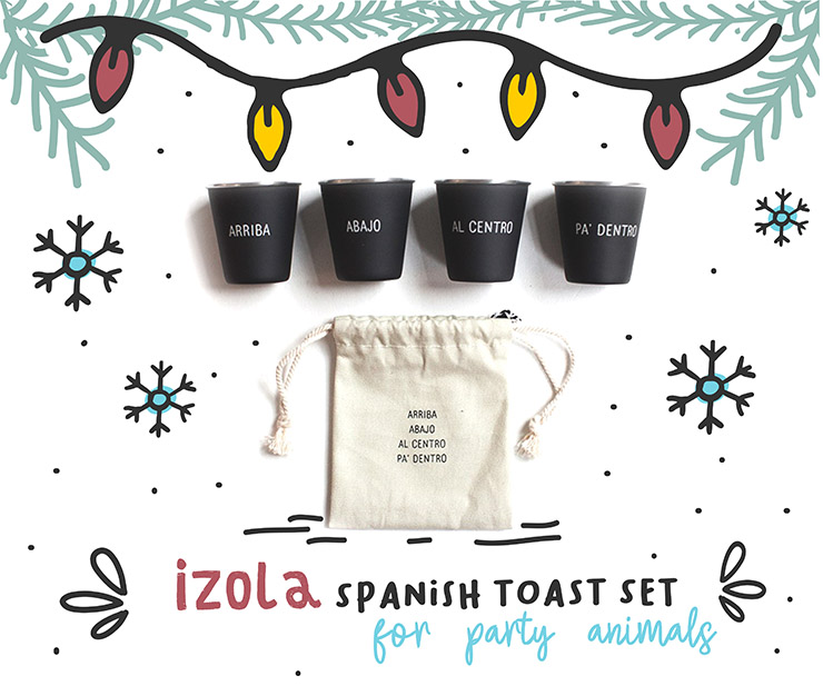 2018 Travelers Holiday Gift Guide Izola Shot Glass