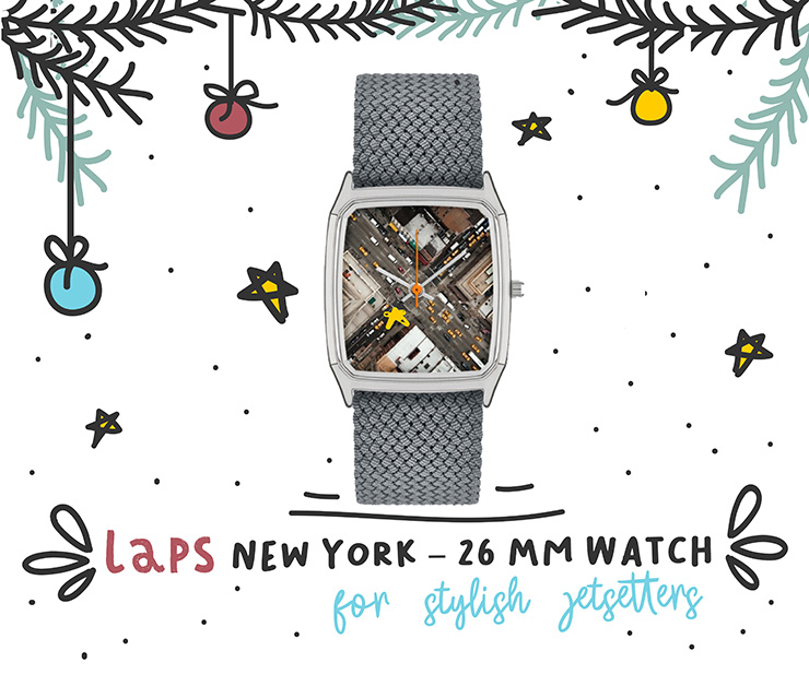 2018 Travelers Holiday Gift Guide Laps NY Watch