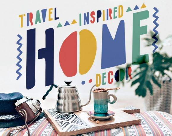 Travel Inspired Home Decor