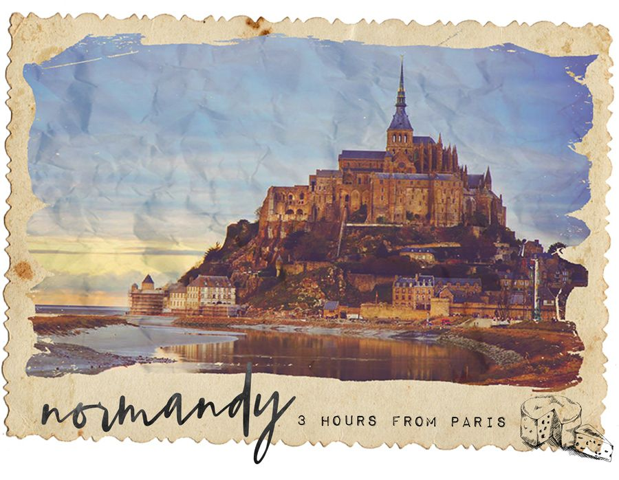Where to Visit Outside of Paris in France Normandy