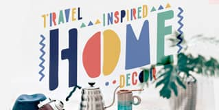 Travel Inspired Home Decor on The Next Somewhere Blog