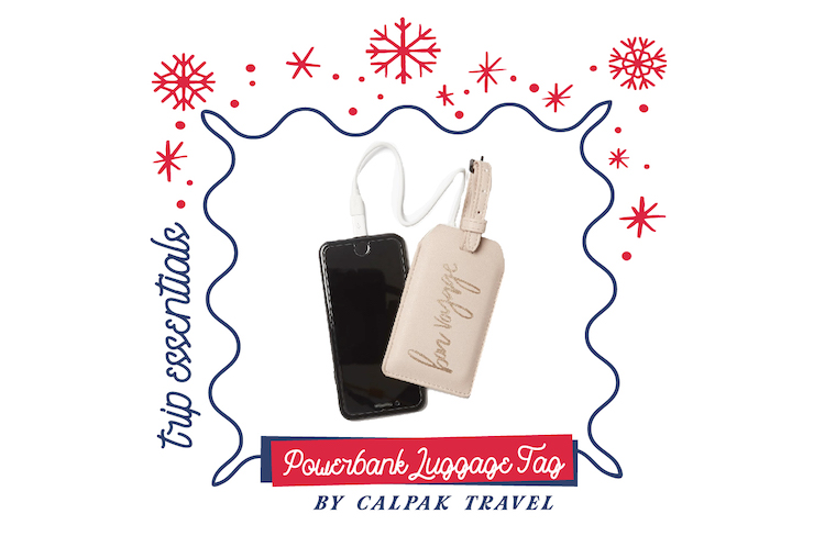 the next somewhere gifts for travel calpak powerbank luggage tag